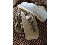 Travel baby cot plus extras