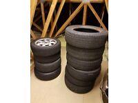 MX5 14 inch Daisy Drift/Skid wheels and tyres