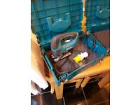 Makita 110v orbital action jigsaw hardly ever used comes with extra tool case