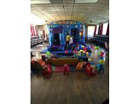 Bouncy castle and soft play hire throughout South Wales.