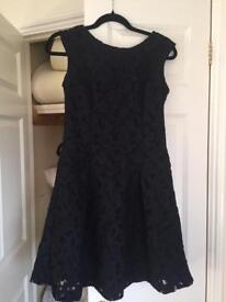 Zara navy blue dress - size small
