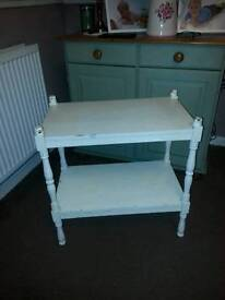 Buffet table side table