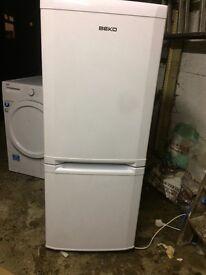 Small Beko fridge freezer