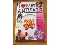 CD ROM, I love baby animals. Cd. The art room