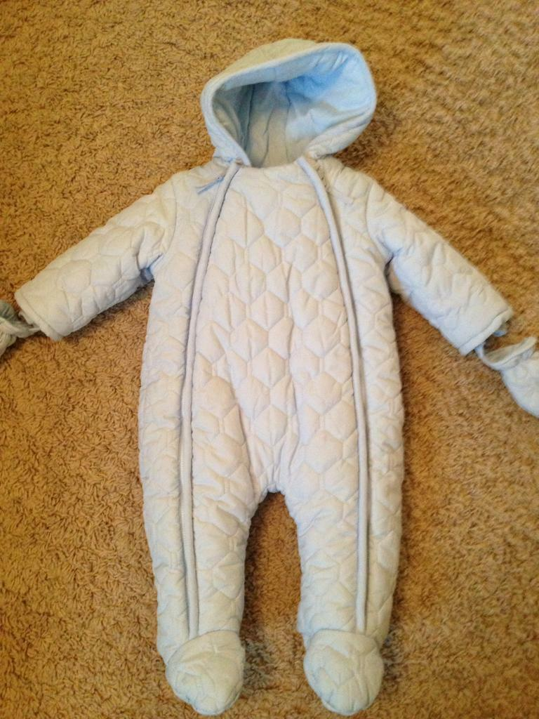 Mamas & Papas snow suit