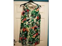 Joe Browns Floral Tropical Dress size 14