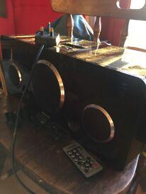 Large Black Speakers
