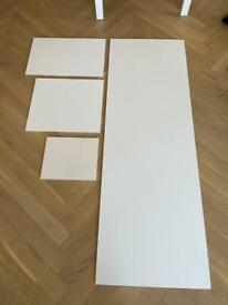 Magnet Kitchen white supermatt kitchen worktop/countertop