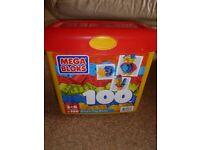 100 mega bloks in original box