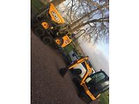 Mini digger and operator for hire