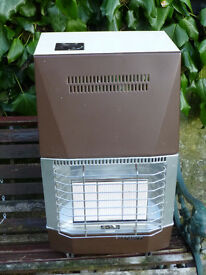 PORTABLE BUTANE GAS ROOM HEATER FREE STANDING