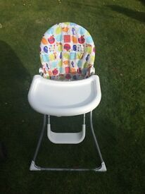 Colourful Highchair in great condition