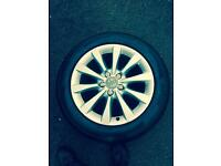 Audi 17 inch original alloys with tyres