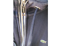 Mens Lacoste Hoodie size 7 UK size LARGE