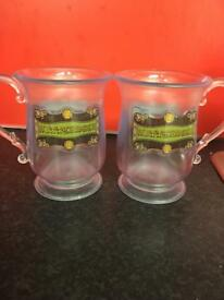 Plastic Harry Potter butter beer mugs