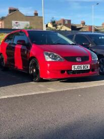 Honda civic type R 2005