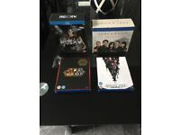 rocky, star wars and torchwood blu-rays