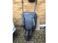 Large wheelbarrow equestrian barrow