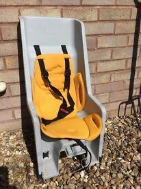 Co- pilot bike seat - child's bike seat £10