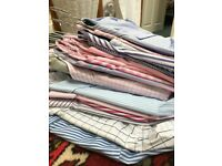 Mens Formal Shirts - Collection of 15. Washed and Ironed. Gant/TMLewin/Jager + More