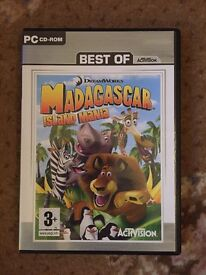 DreamWorks Madagascar Island Mania PC CD-ROM for Ages 3+ Years.