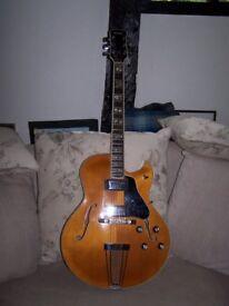 REDUCED !! Rare Yamaha AE11 archtop jazz guitar.
