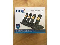 BT quad set of house phones