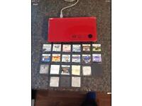 Red dsi xl with 20 games £60 Ono
