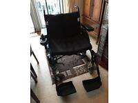 Wheeltech energi enigma large electric wheelchair as new
