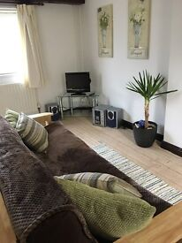 1-bed propery to rent Mon-Fri only. £50 per night, min 3 nights . No contract, no fees