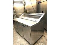Williams commercial pizza topping fridge, catering fridge