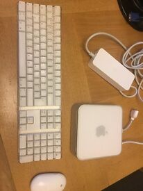 Apple Mac Mini Late 2009 with SSD and RAM Upgrade plus Apple Keyboard and Mouse