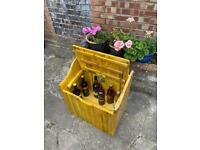 Garden drink storage box