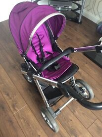 Oyster max pram, carry cot & maxi cosy car seat