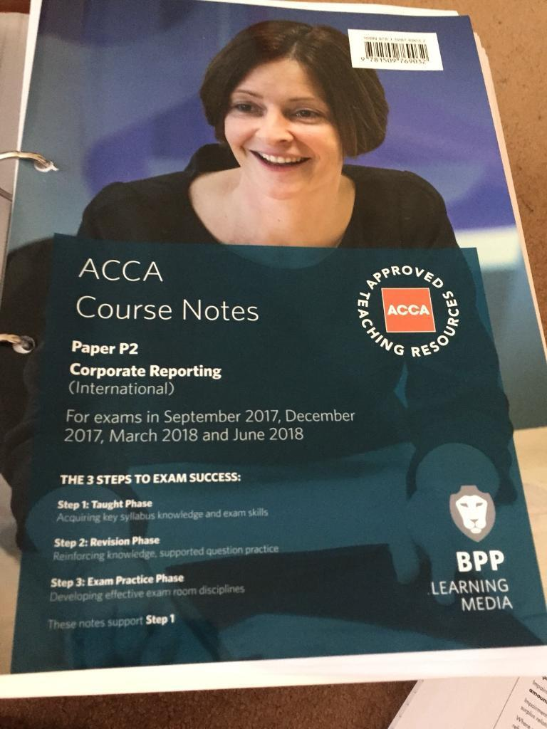 Acca p2 notes 2014