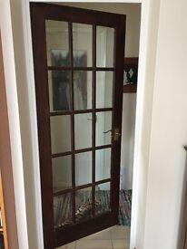 internal glass panelled doors