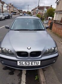 BMW 320D, New clutch, disc brakes and exhaust.