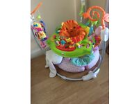 Fisher price jumperoo from 3-4months upwards . Good as New comes with few toys