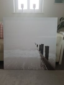 Ikea picture, this is a large picture if you need sizes just ask. No marks like brand new.
