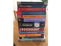 PSYCHOLOGY BOOKS FOR A LEVEL AND DEGREE