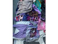 Large bundle of girls clothes age 7