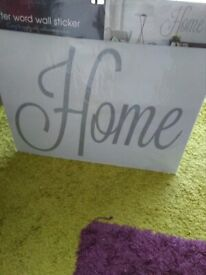 WALL HOME ART,JUST 50p