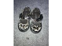 Next leopard print infant shoes