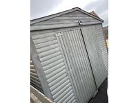 14 x 10 wooden log board shed for sale
