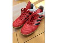 Adidas Copa Red Leather Trainers