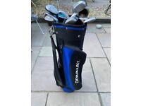 Junior / Kids golf clubs and bag