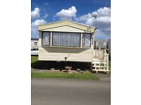 caravan to rent ingoldmells promeande site 1st-8th july 2 bedrooms