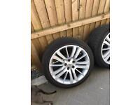 Range rover sport alloy wheels & tyres