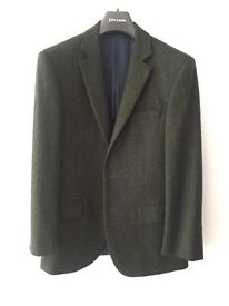 Men's green tweed jacket