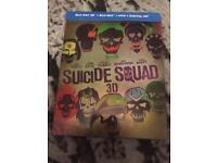 Suicide Squad Blu-Ray Steelbook